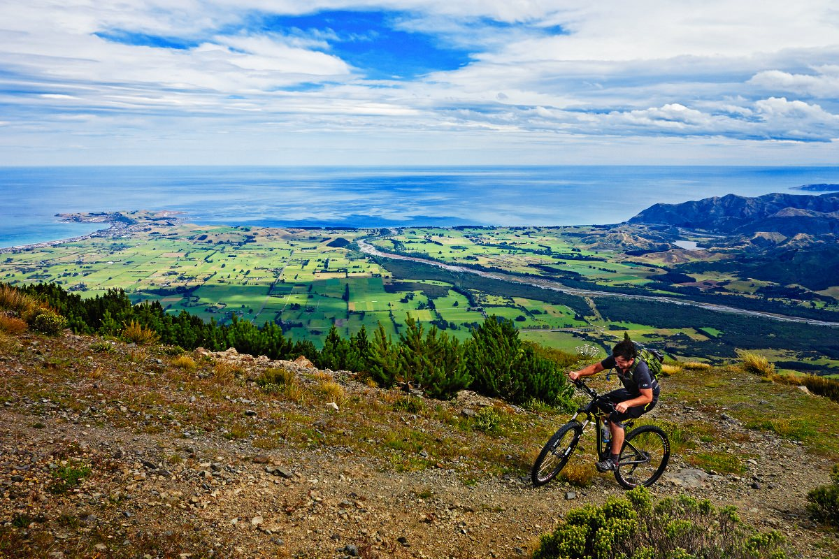 Mt Fyffe Cycling at Kaikoura