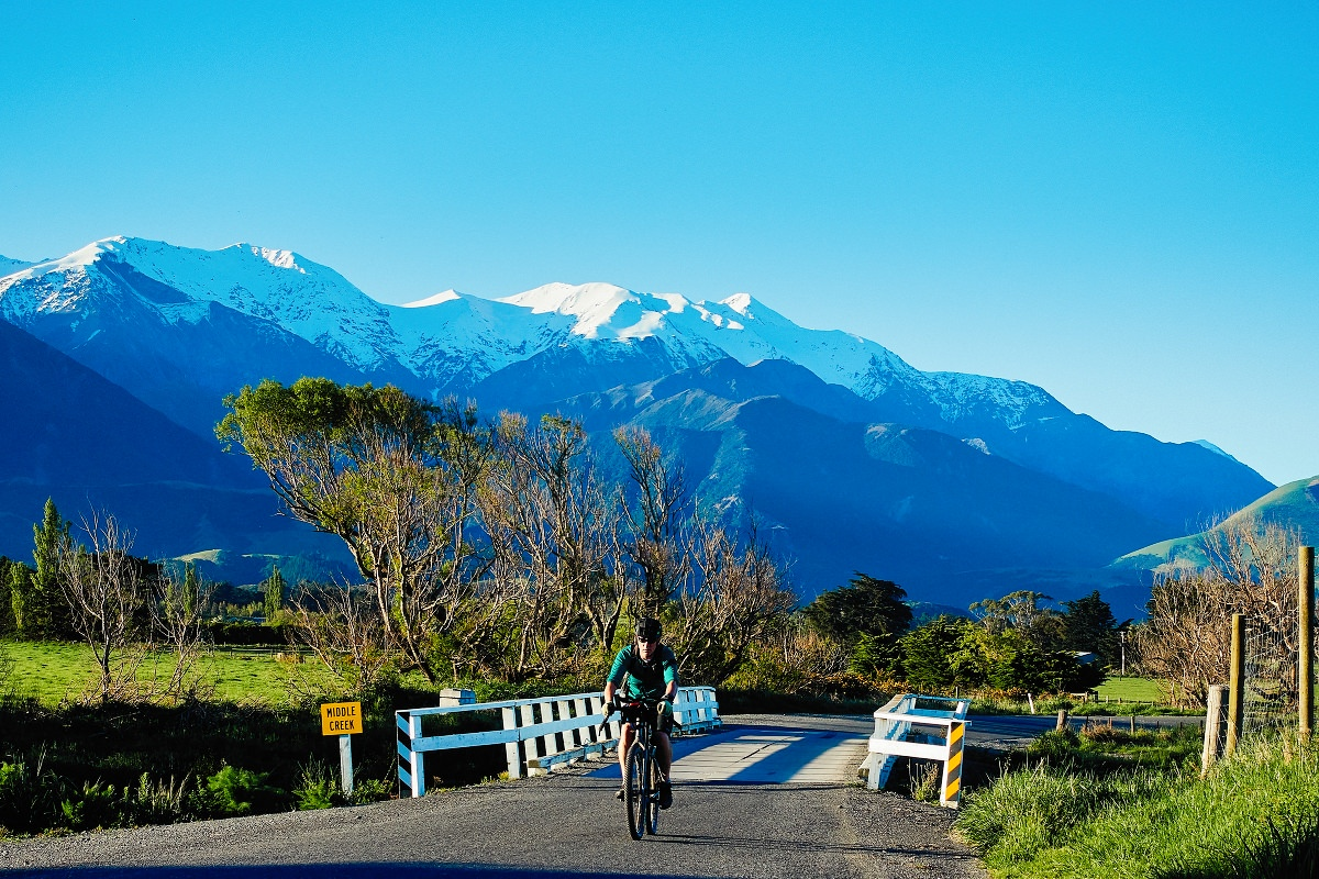 Kaikoura Cycle Trail at Kaikoura