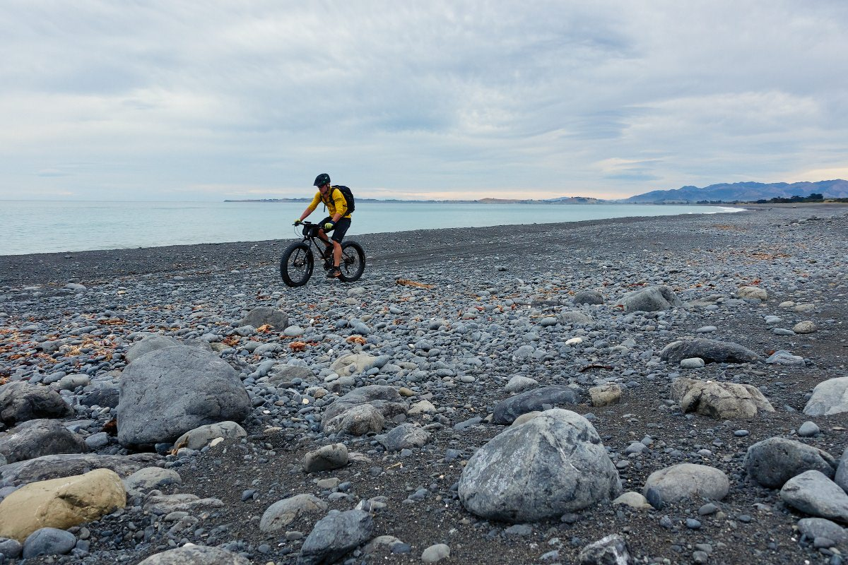 Cycling Kaikoura